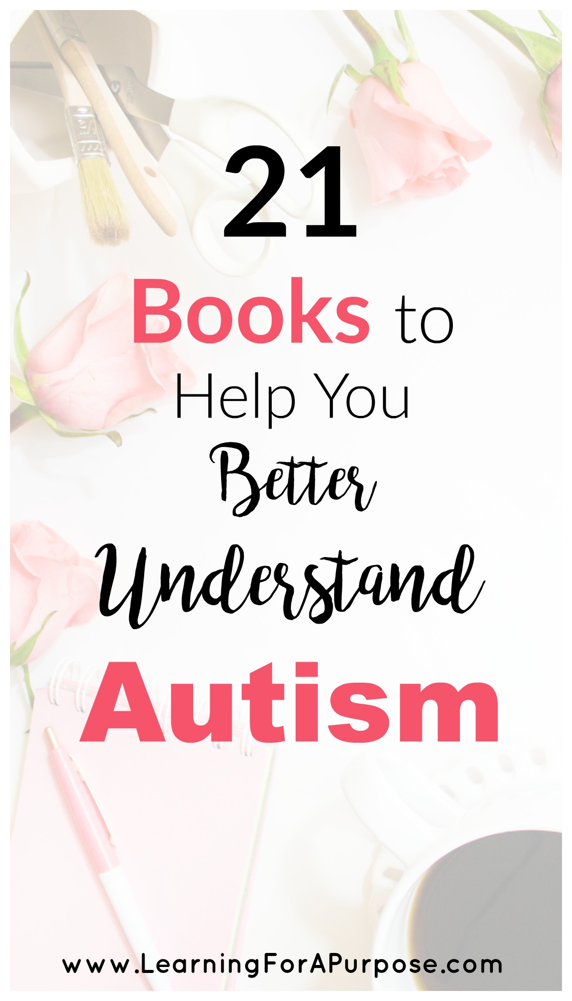 21 Books to Help you Better Understand Autism Pin