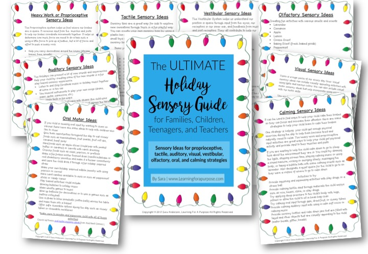 Ultimate Holiday Sensory Guide Preview