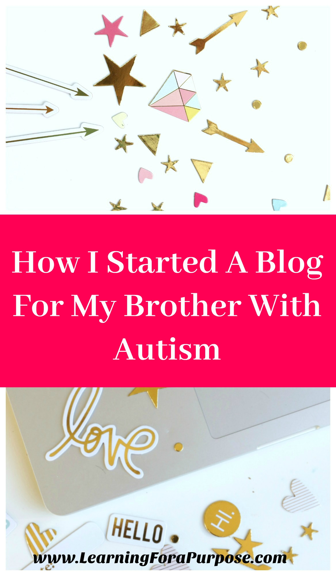 How I Started A Blog for Brother with Autism