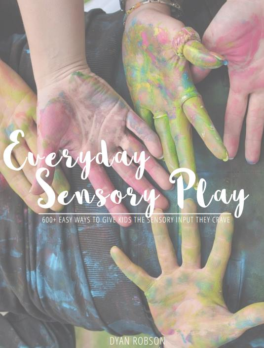 Everyday Sensory Play Ebook Photo