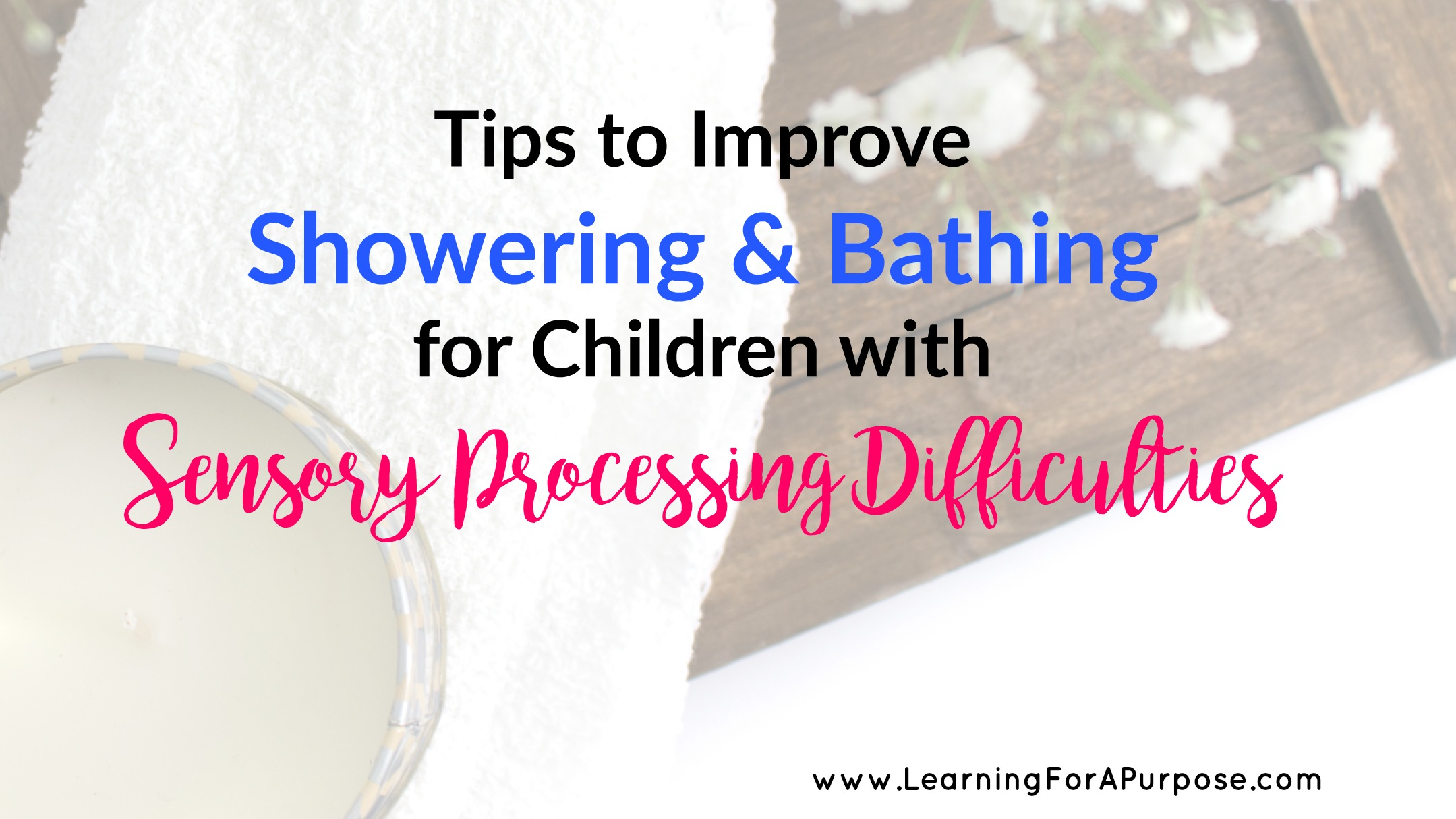 Goals for sensory integration occupational therapy ebook array tips to improve showering and bathing for children with sensory rh learningforapurpose com fandeluxe Images