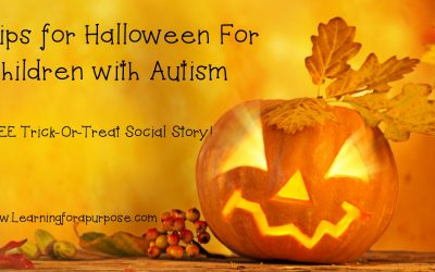 Tips for Halloween for Children with Autism