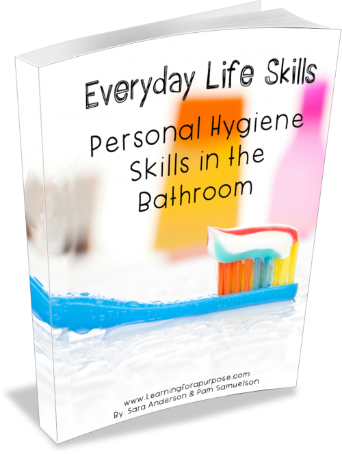 Everyday Life Skills Personal Hygiene Skills Ebook #lifeskills #personalhygieneskills #autism