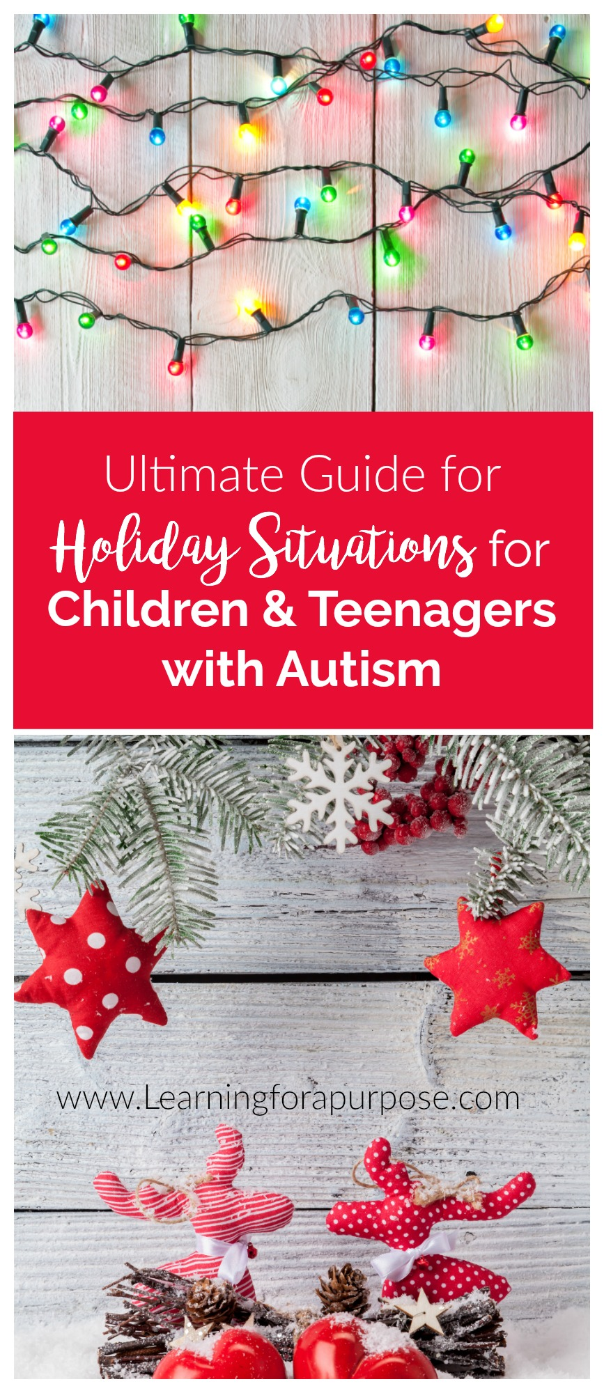 Ultimate Guide for Holiday Situations for Children and Teenagers with Autism
