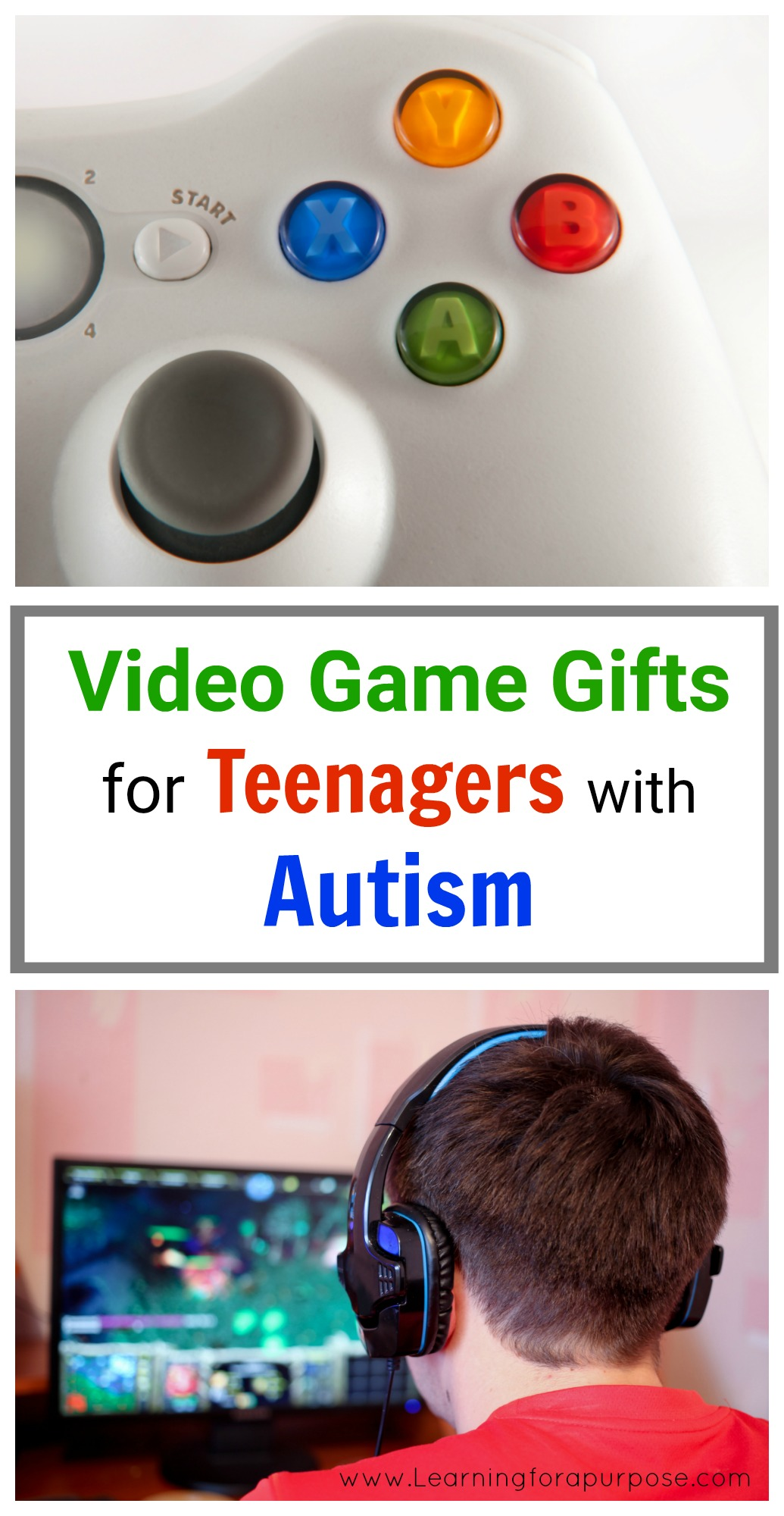 Video Game Gifts for Teenagers with Autism Learning For A Purpose