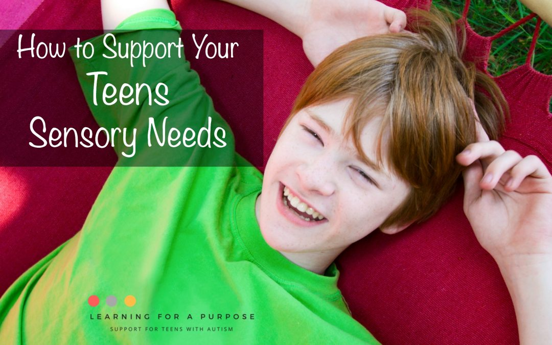 How to Support your Teens Sensory Needs