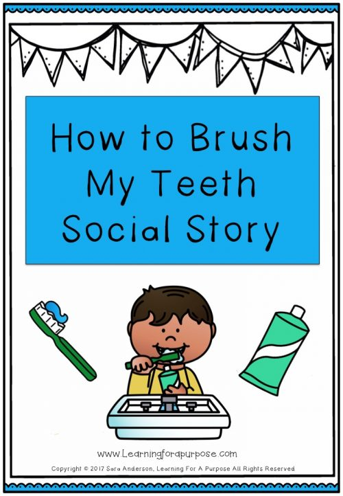 How to Brush my Teeth Social Story