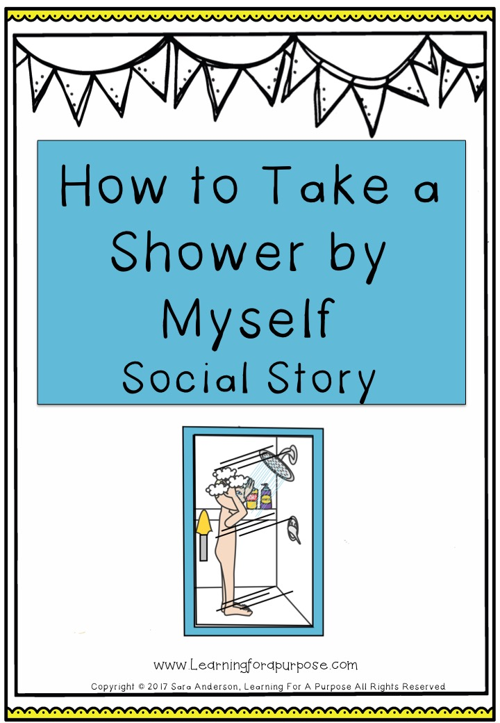 How to take a shower social story