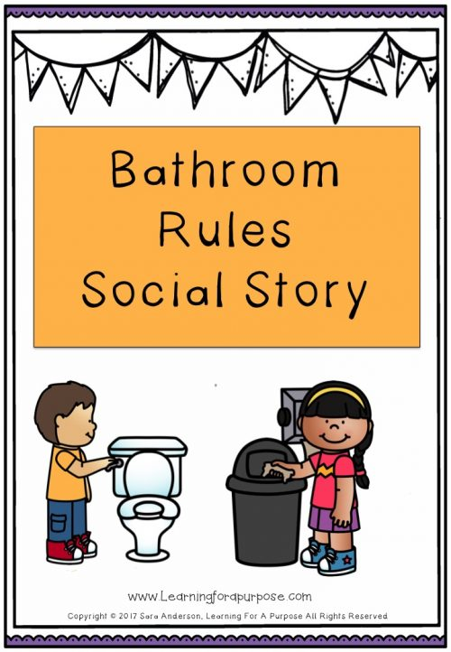 Bathroom Rule Social Story