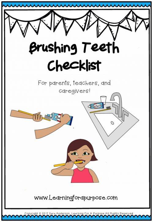 Brushing Teeth Checklist