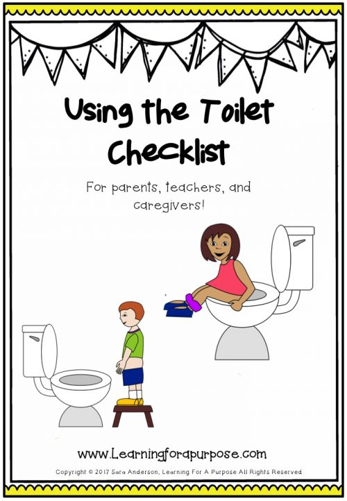 Using the Toilet Checklist