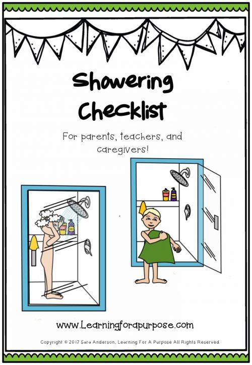Showering Checklist
