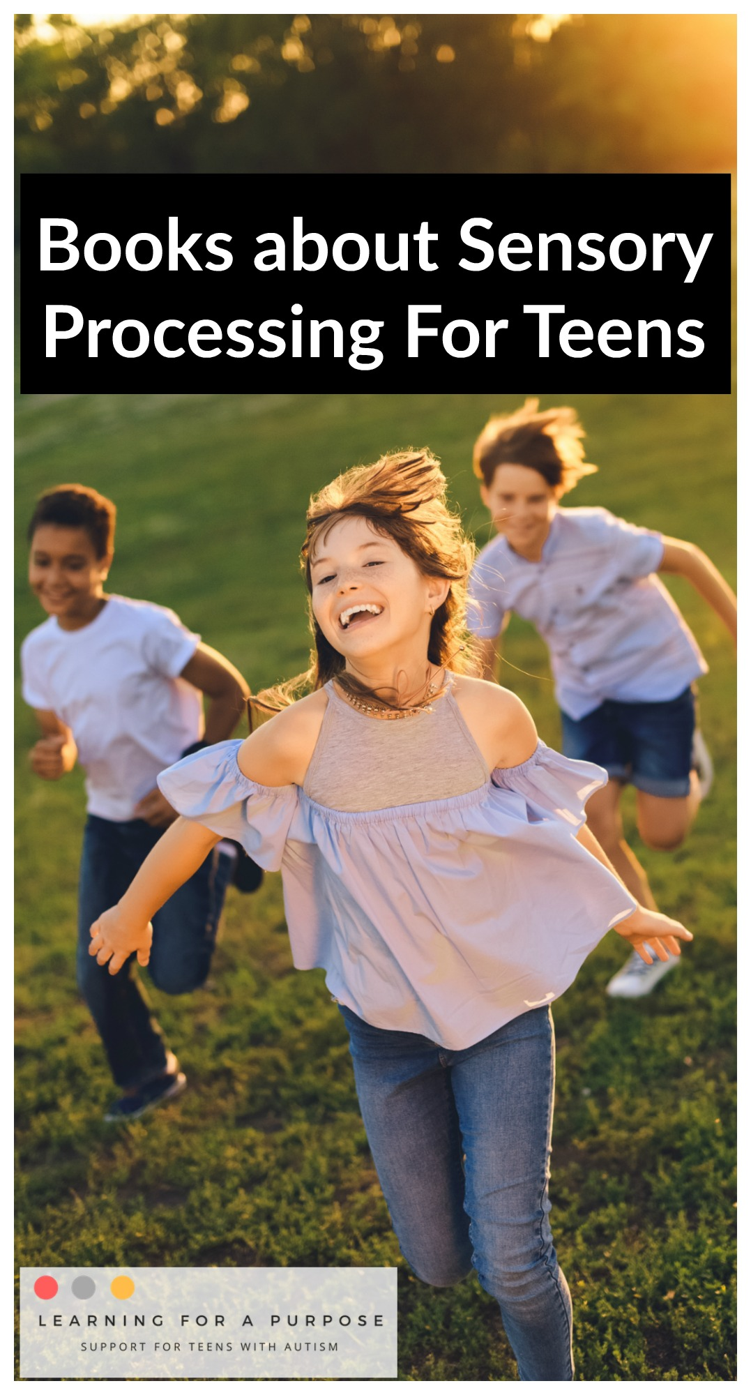 Books about Sensory Processing For Teens #sensory #teens