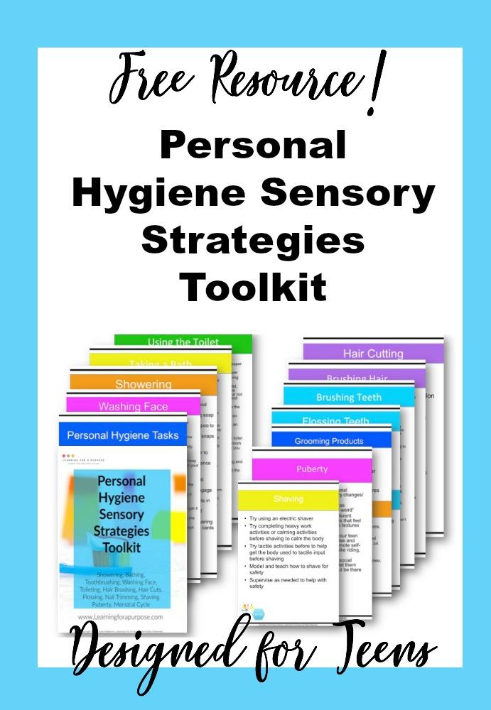 Personal Hygiene Sensory Strategies Toolkit #sensory