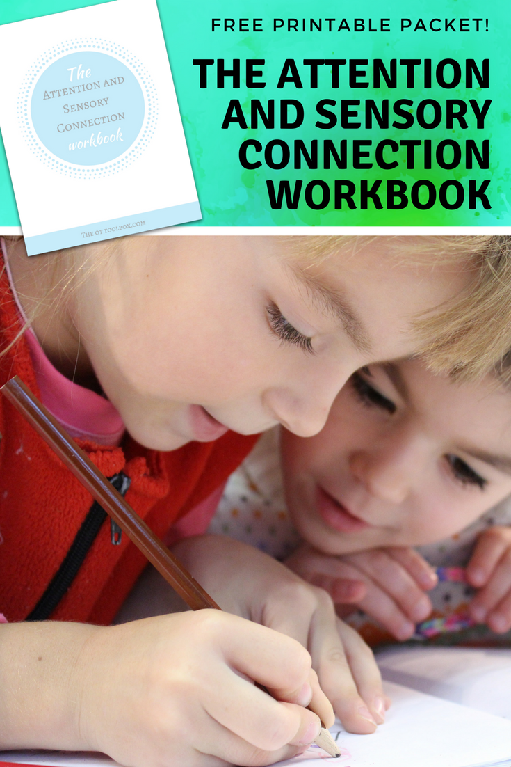 The Attention and Sensory Connection Workbook #sensory