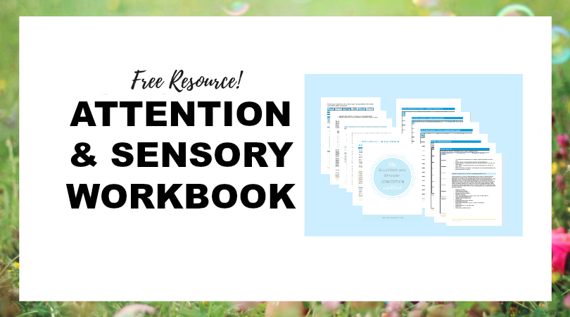 The Attention and Sensory Workbook #sensory