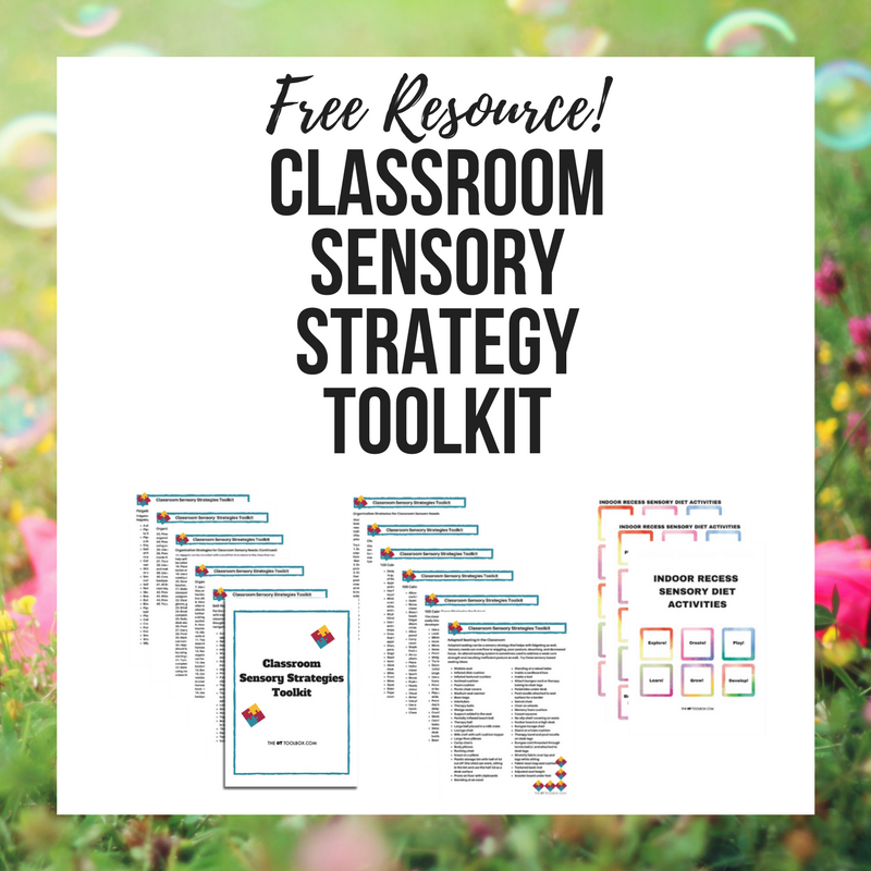 classroom sensory strategy toolkit #sensory
