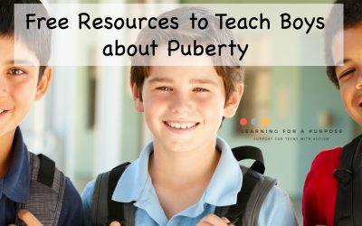 Free Resources to Teach Boys about Puberty