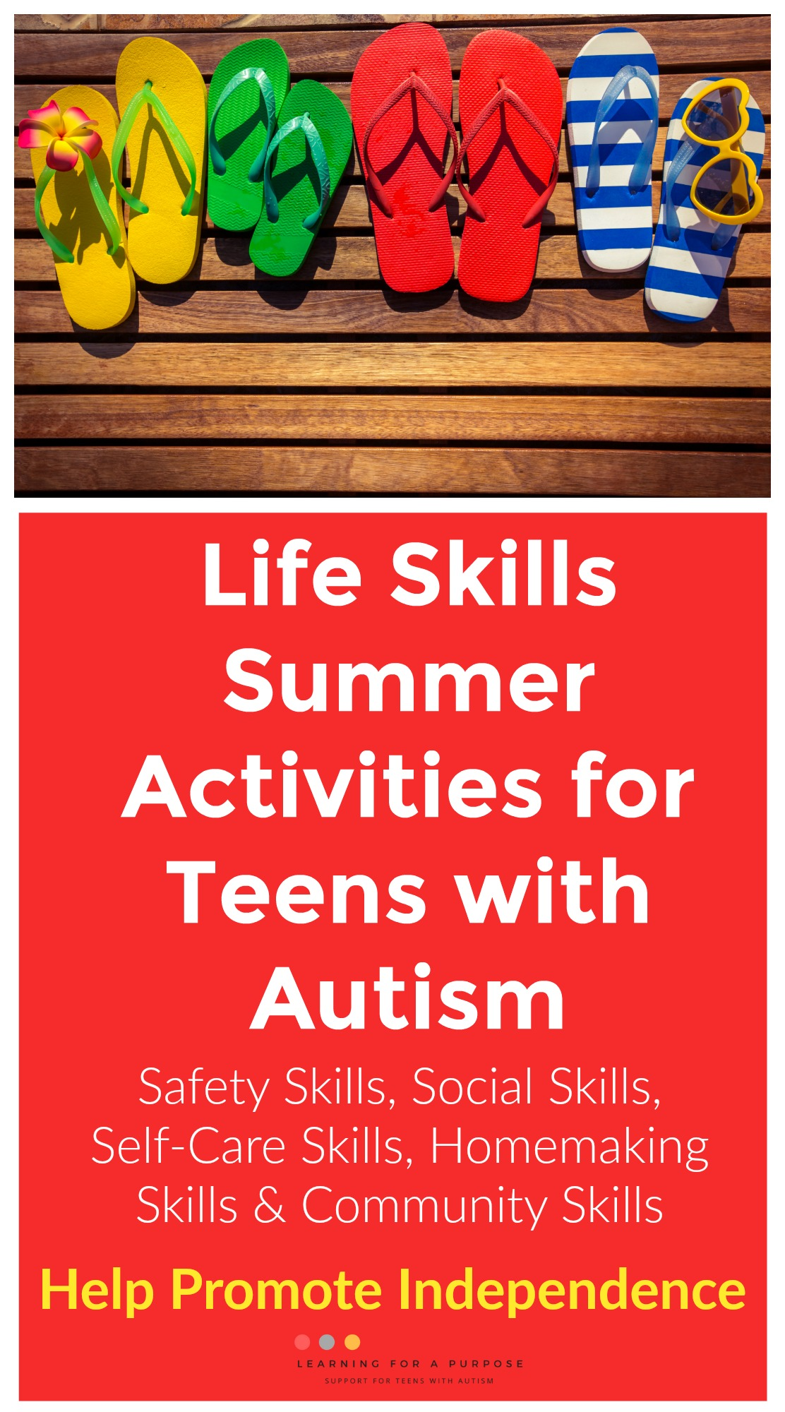 life skills summer activities #summer #autism #teens #lifeskills