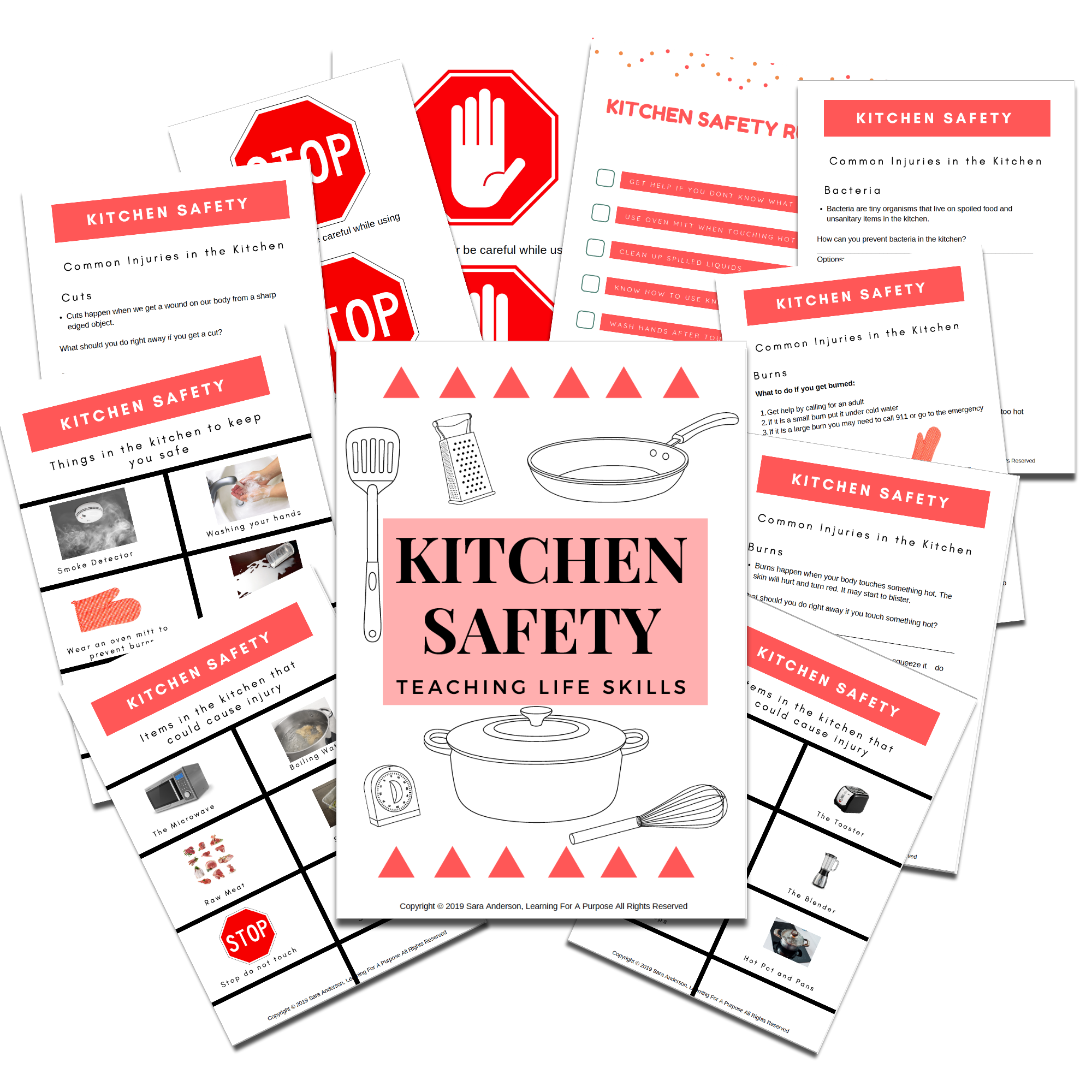 Kitchen Safety Display Image