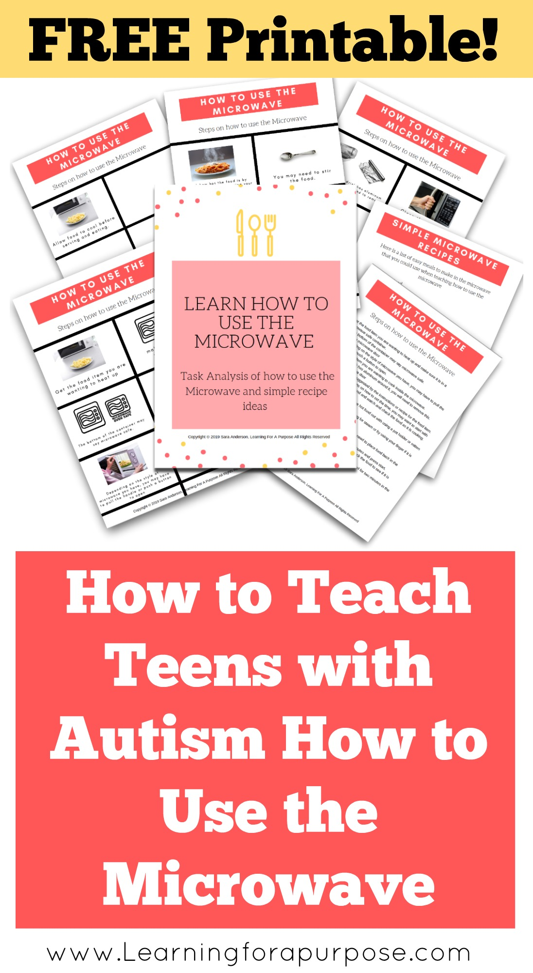 How to teach teens with autism how to use the microwave