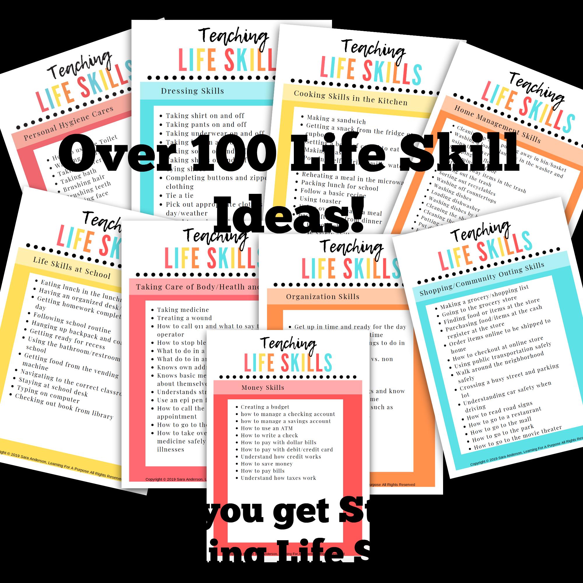Life Skills Ideas Course Display Image
