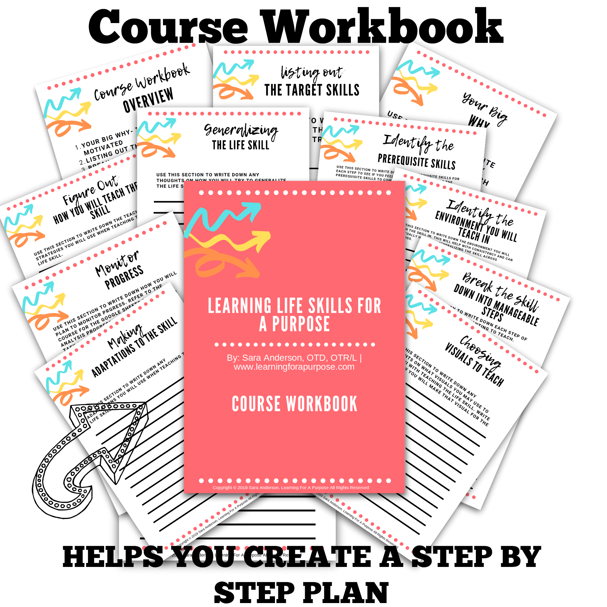 Life skills course workbook display image