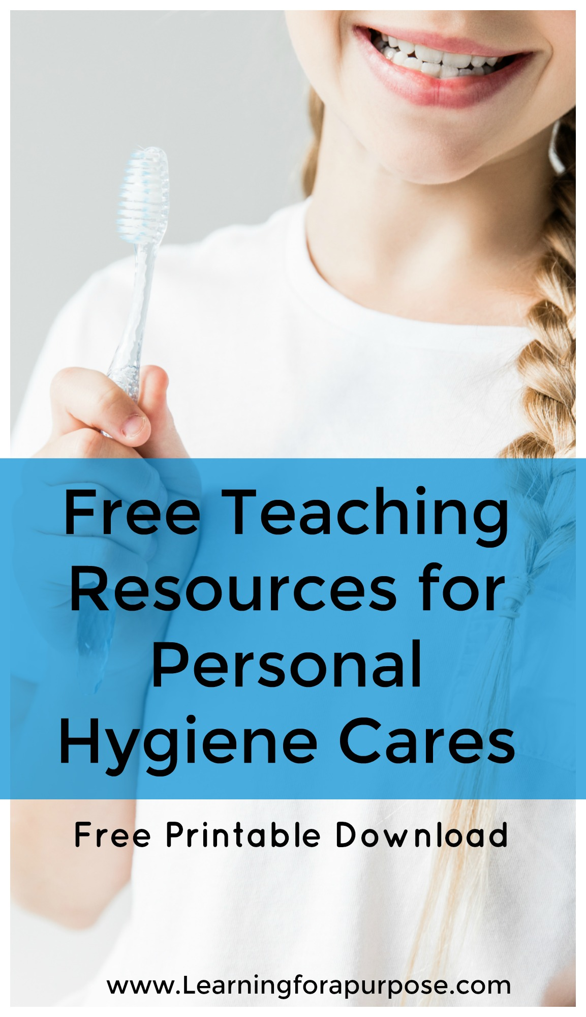 Free Teaching Resources for Personal Hygiene Cares