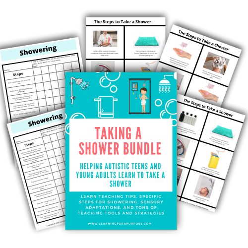 Taking a Shower Bundle Preview Image