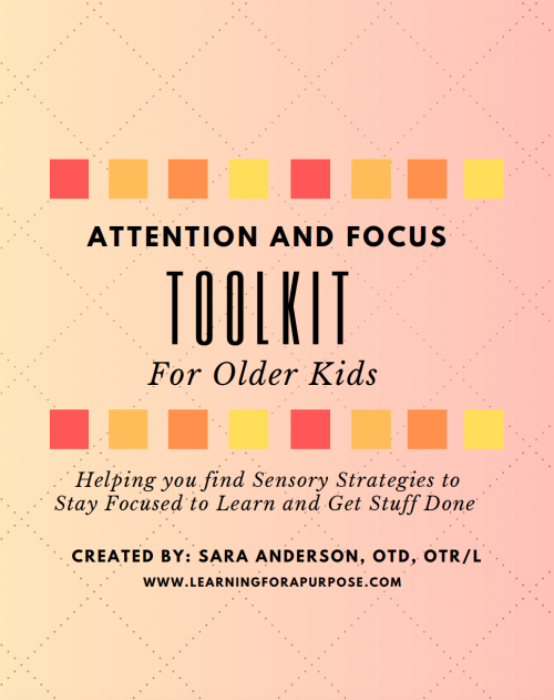 Attention and Focus Toolkit for Older Kids Cover Image
